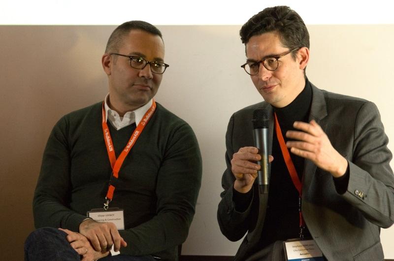 Stéphane Kirkland et Olivier Lépinoy à InnoShakers